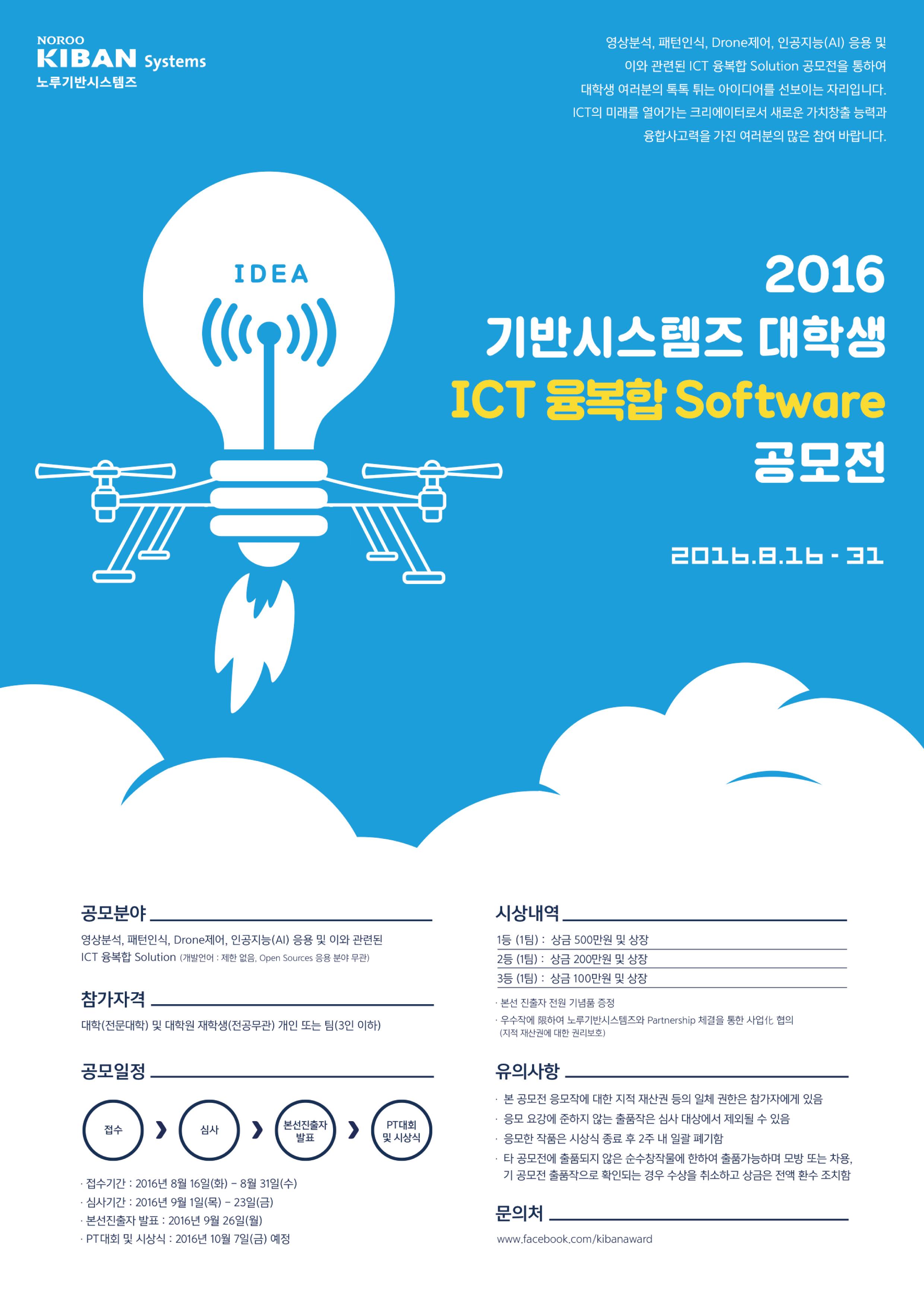 Poster design awards -  Kiban Systems Ict Software Awards Poster Design